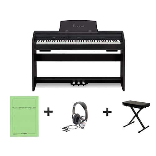 piano numérique meuble Casio PX760 pack