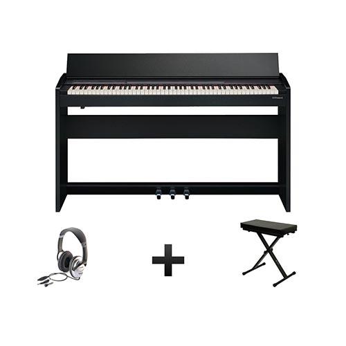 piano numérique meuble Roland F140R pack