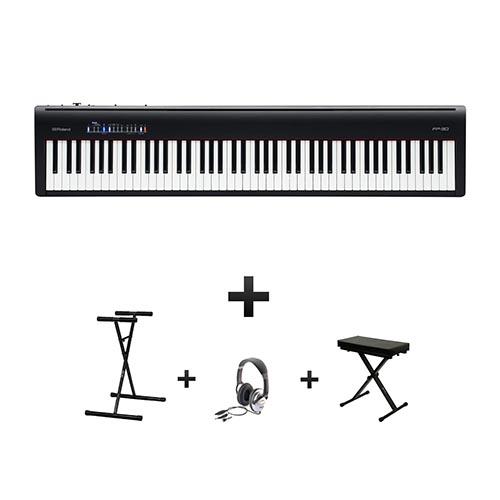 piano numérique Roland FP30 pack