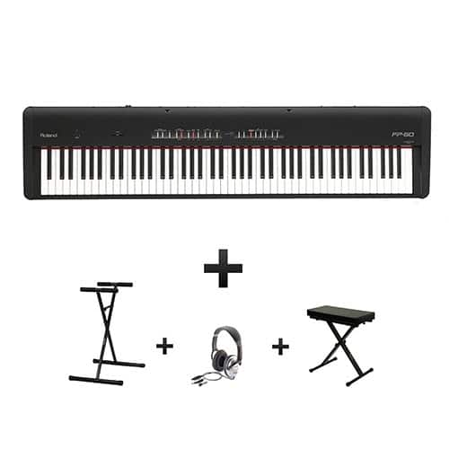 piano numérique Roland FP50 pack