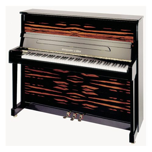 piano Steingraeber 130T noir brillant avec option twist and Change