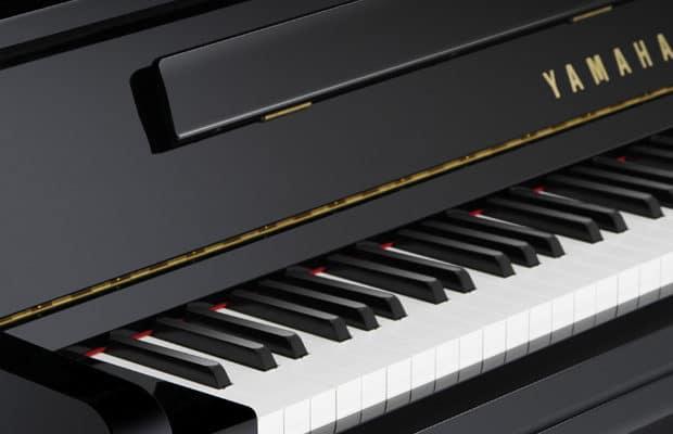 Toutes les gammes des pianos droits Yamaha
