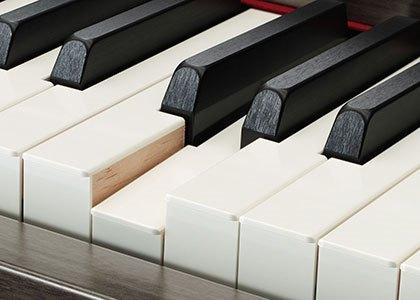 Détail du clavier GrandTouch Yamaha