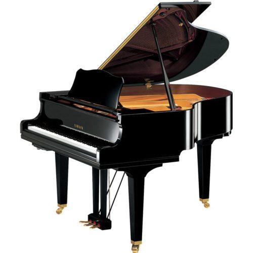 piano à queue yamaha GC1 transacoustic TA2 noir