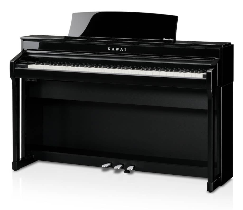 nouveau Kawai CA78 noir brillant