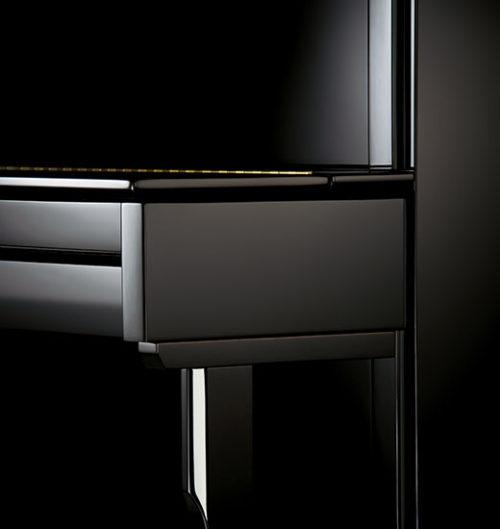 c. bechstein academy 124 imposant noir detail