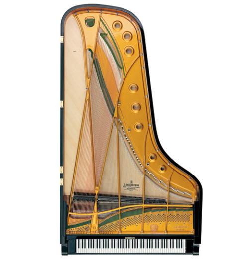 c. bechstein concert d 282 detail