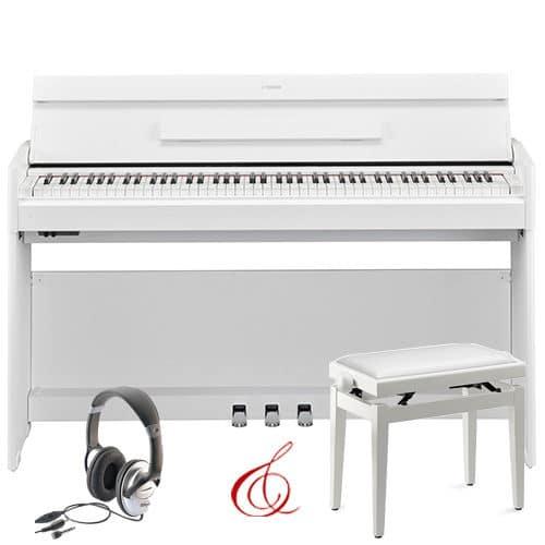 piano yamaha ydp s54 blanc face pack