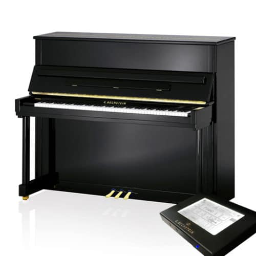 piano c bechstein classic 124 noir vario