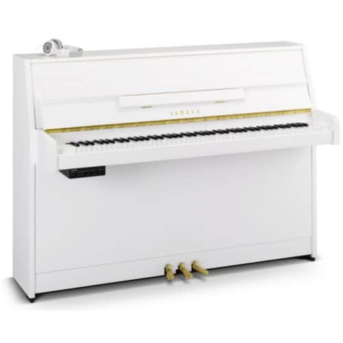 piano droit yamaha B1 Silent SG2 blanc d'occasion