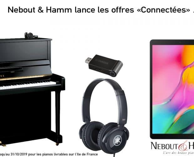 Offre connectée promo pianos Yamaha
