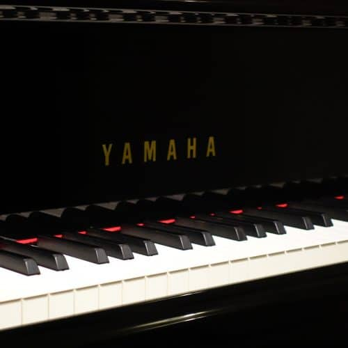 logo yamaha sur cylindre