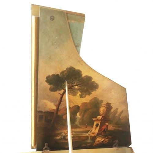 piano Gaveau 1 style louis XVI décors peints couvercle occasion 1933