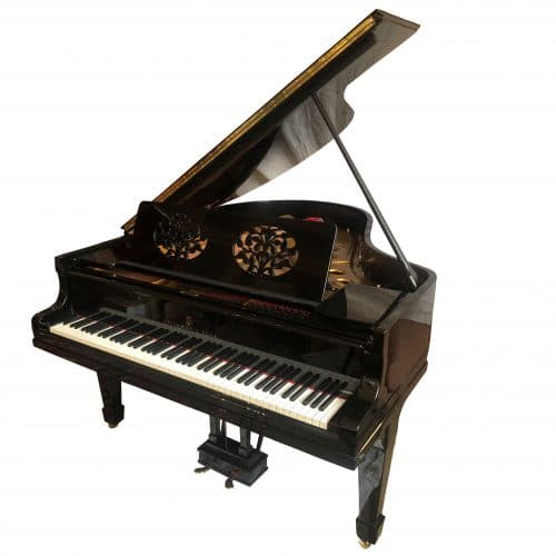 piano Steinway O noir occasion