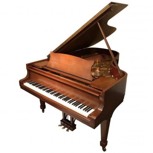 piano steinway & sons acajou satine occasion 1980 P