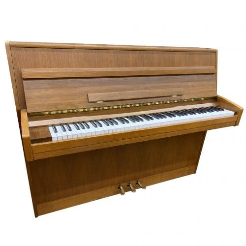 Piano Scherer Noyer satiné Occasion 1980