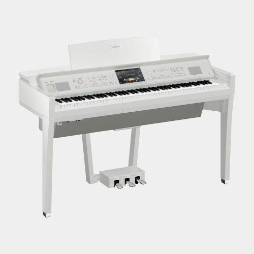 Yamaha CVP 809 blanc brillant