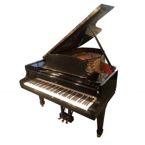 piano Steinway B-noir laqué 1982 occasion