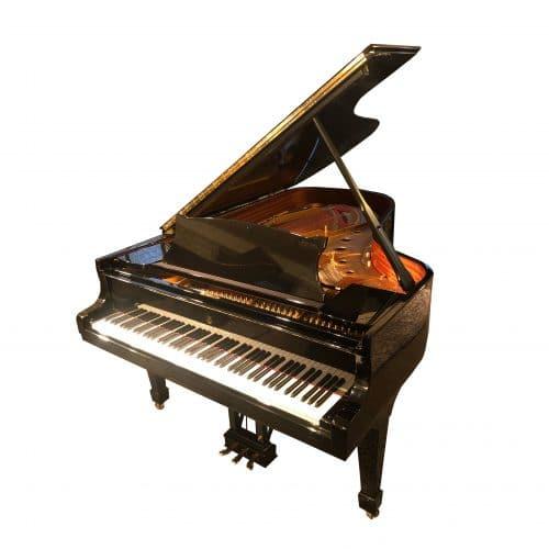 piano Steinway-B-noir laqué 1992 occasion
