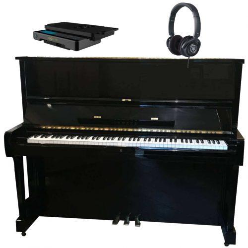 piano yamaha u1 in silens noir brillant occasion 1993